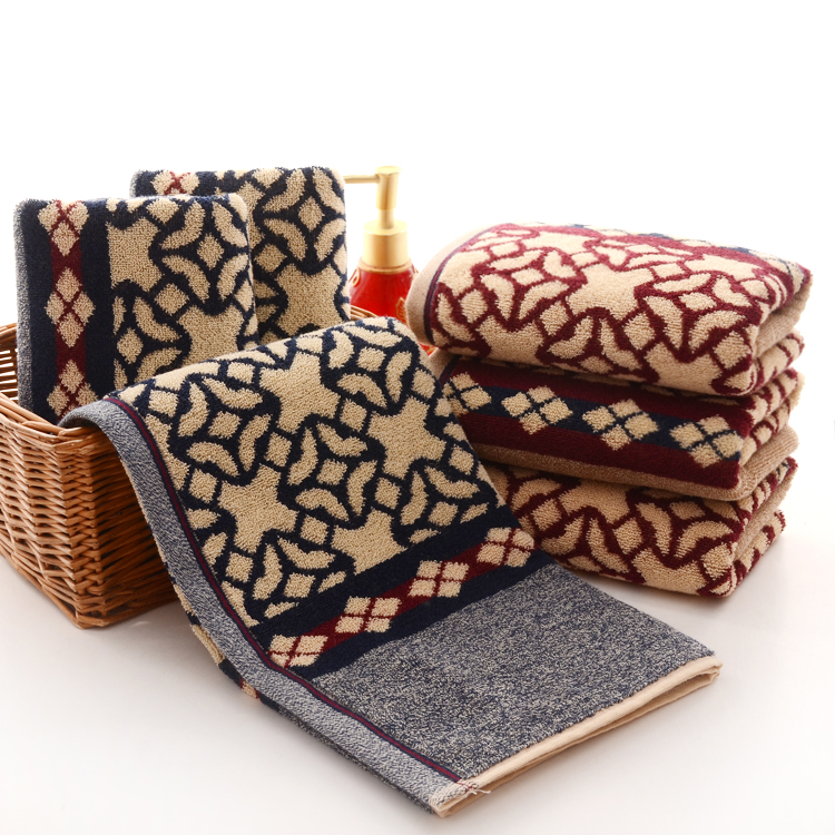 Jacquard Pattern Towels