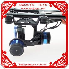 Soporte para cámara sin cepillo de dos ejes / cabezal de horquilla con quadcopter / para FPV Gopro3, V303 WLtoys