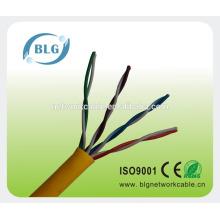 Cable de conexión de pvc para redes cable de televisión utp cat5e