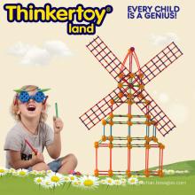 Hot Sale Plastic Educational Building Block Toys for 3-6 Kids