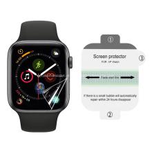 Protetor de tela de relógio anti-riscos de hidrogel para relógio da Apple