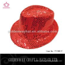 Chapéu de festa de mágico vermelho de venda quente para adulto