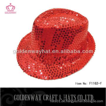 Heißer Verkauf roter Magier-Partyhut für Erwachsenen
