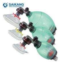 Máscara de kit de equipamento de ressuscitação confortável SKB-5C006