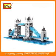 Diy Plastik Puzzle Spielzeug Tower Bridge Spielzeug