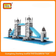 Diy plastic puzzle toys Tower Bridge toys