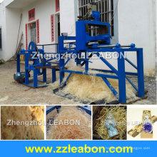 Haute qualité 300-500kg / h laine de bois faisant la machine avec ce