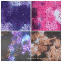 Oxford 600d alta densidade PVC / PU galáxia impressão tecido de poliéster (S3)