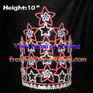 Star Pageant Crowns With Adjustable Band