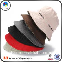cheap plain white cotton bucket hat for women