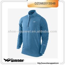New fashion men long sleeve running t-shirt 2013 oem