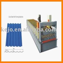 Farbbeschichtete Wand- und Dachpanel-Walzenformmaschine
