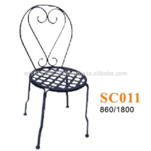 Metal furniture - chair balcony