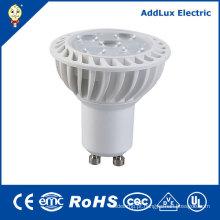 Luz do dia de 5W 220V GU10 / lâmpada branca pura do projector do diodo emissor de luz