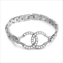 Banhado a ouro VAGULA moda CZ pedra liga pulseira para mulheres