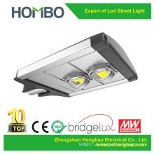 Heißer Verkauf 60W 70W 80W 90W 100W LED-Straßenlaterne 5 Jahre Garantie Aluminium Bridgelux führte Beleuchtungquelle im Freienlampe