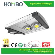 Venda quente 60W 70W 80W 90W 100W luz de rua LED 5 anos de garantia alumínio Bridgelux levou iluminação fonte lâmpada ao ar livre