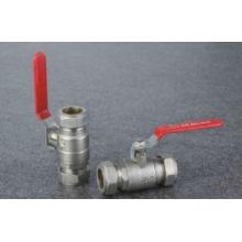 Шаровой клапан красный рычаг изолирующий шаровой кран от 15 мм до 25 мм