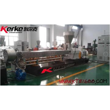 Latest technology EVA with carbon black  Enforcing modification twin screw extruder