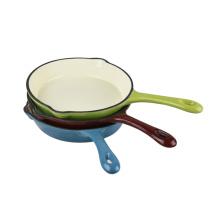 Чугунная сковорода / сковорода / гриль HF71A с эмалевым покрытием