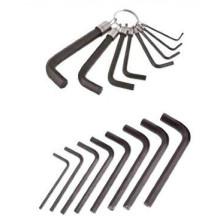 SAE clé hexagonale avec traitement de chaleur à anneau de ressort