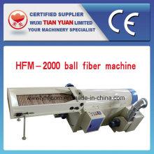 Bola não tecido fibra fibra de pipoca faz a máquina