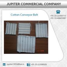 Cinta transportadora de algodón para la industria textil y de pequeña escala Fabricante