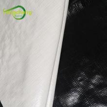 200 микрон теплица черно-белая панда пленка