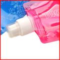 Логотип заказчика оптом бутылка bpa бесплатно складной бутылки с водой