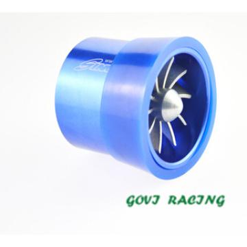 Turbina de admisión de aire Turbina con piezas de Spaer Dual Supercharge 7.5 * 6.5cm