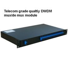 Telecom Grade Rack Mount Qualtiy DWDM Mux/Demux Module
