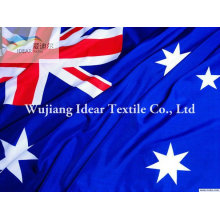 100% poliéster bandeiras nacionais/poliéster impresso bandeiras nacionais de diferentes países