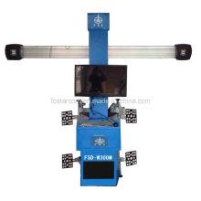 Sin empuje tipo de carro 3D de cuatro ruedas Instrumento de posicionamiento: Fsd-W300m