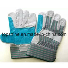 Fashion Labor Industrial Safety Cowhide Split Leather Working Gloves