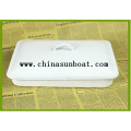 Enamel Medical Tray with Cover