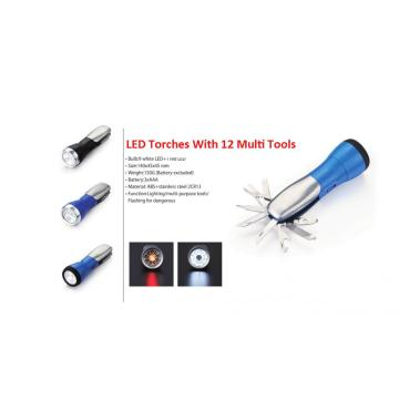 All In One Multi Tool Flashlights 9 LED