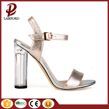 white crystal high heel sexy women sandals