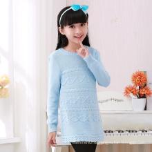neue Design Kragen / V-Ausschnitt Pullover Designs für Mädchen