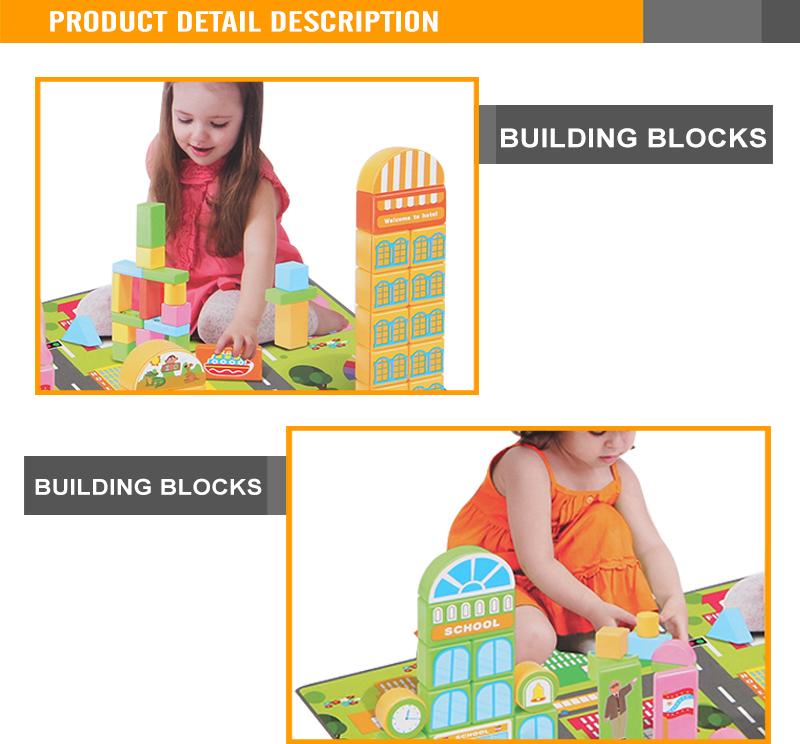 high quality puzzle blocks toy kid