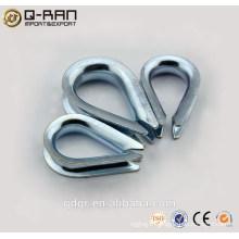 Cosses de câbles en acier carbone