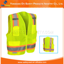 peesonal style high vis waistcoat with pockets