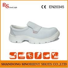 Sapatos médicos mais vendidos, sapatos de segurança para cozinheiro com sapato RS268