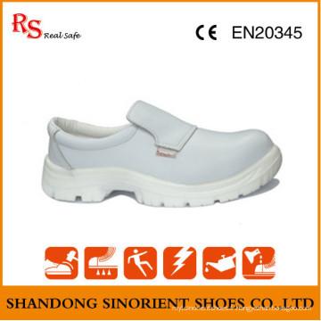 Chaussures médicales les plus vendues, chaussures de sécurité sans dentelle RS268