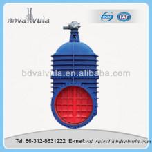 Válvula de Porta Cuniforme de Haste Motorizada Não-Ascendente