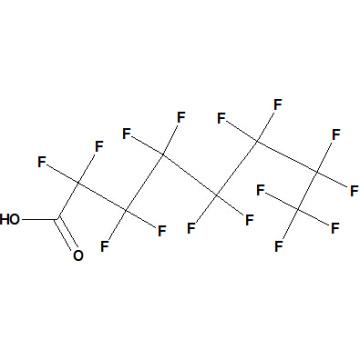 Ácido pentadecafluorooctanoico Nº CAS 335-67-1