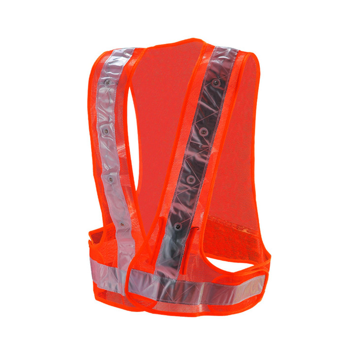 Police High Visibility LED Safety Vest