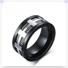 Charm Schmuck Mode Accessoires Edelstahl Ring (SR586)