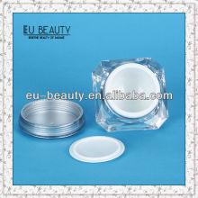 ACRYLIC LUXURY CREAM JAR COSMETIC SET / 50G ACRYLIC CREAM JAR