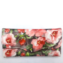 Hot summer fashion floral women wallets lady wallet