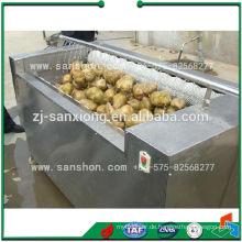 Advanced Sanshon MXJ-10G Obst, Gemüse Pinsel Waschen und Schälen Maschine